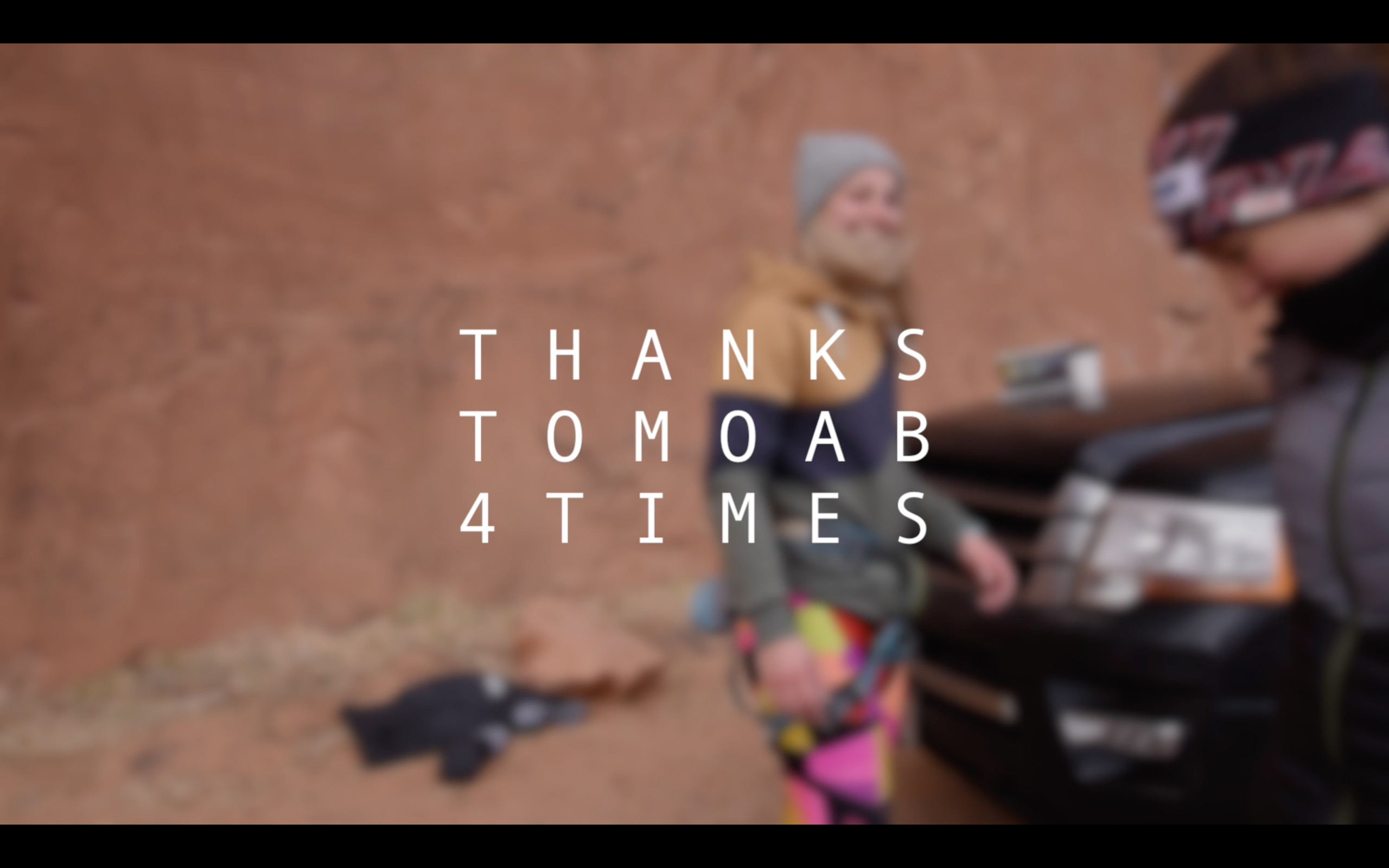 Thanks To Moab 4 Times